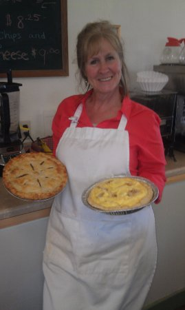 Pray, MT: Homemade pies are a specialty