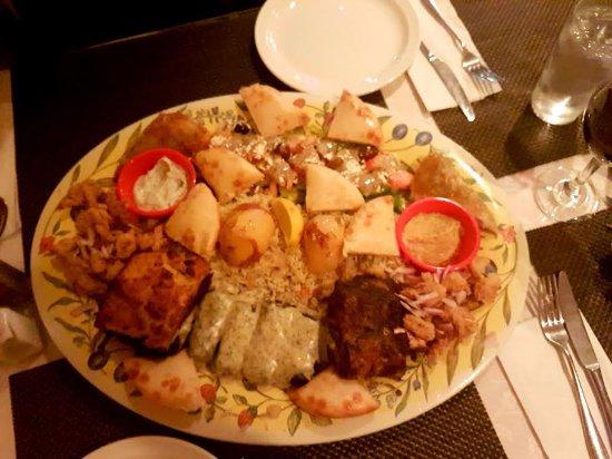 Duncan, Canada: Greek Platter