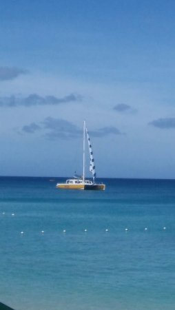 Holetown, Barbados: The view of this beautiful water