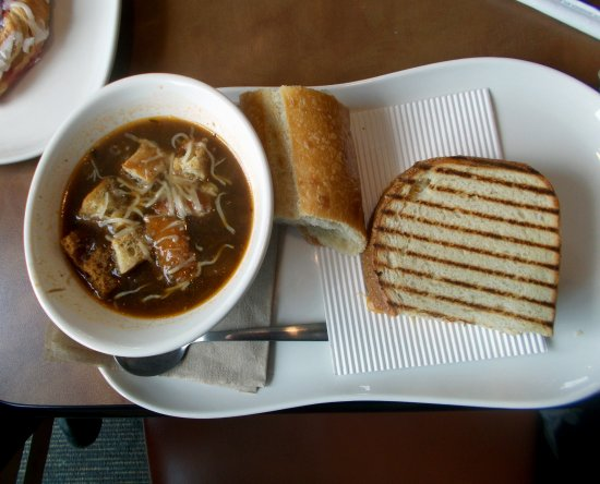 Richmond, KY: French onion soup-grilled cheese sandwich