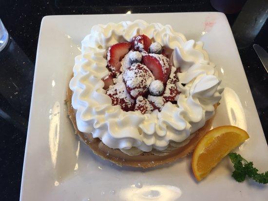 Ocoee, FL: Florida waffle with bananas, strawberries, blueberries, and optional whipped cream