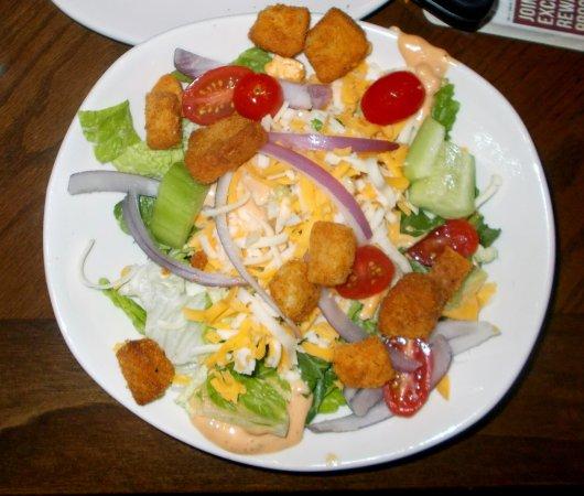 salad picture of outback steakhouse lexington tripadvisor tripadvisor