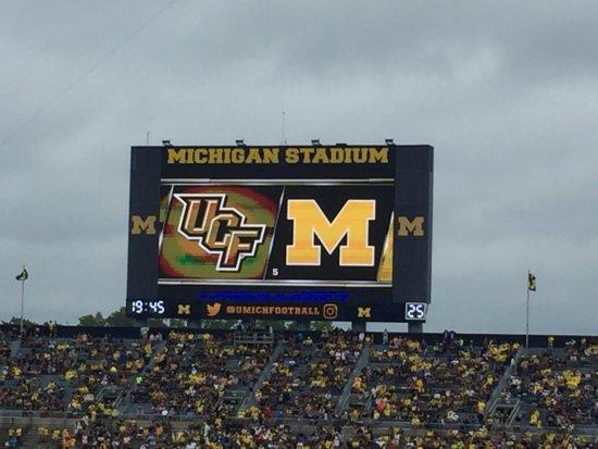 Ann Arbor, MI: UCF vs Michigan at the Big House: Sept 10, 2016