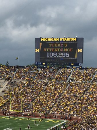 Ann Arbor, MI: That's a whole lot of people!