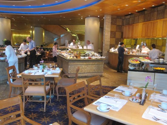 Sheraton Grande Sukhumvit A Luxury Collection Hotel Hotels Dining Room For Breakfast
