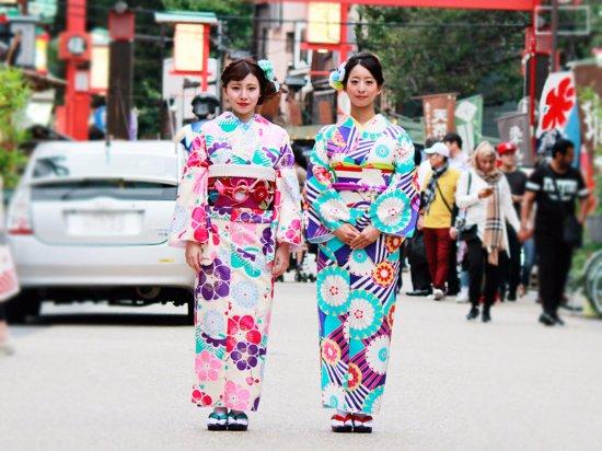 Kimono & Yukata Rental One, Asakusa Ekimae
