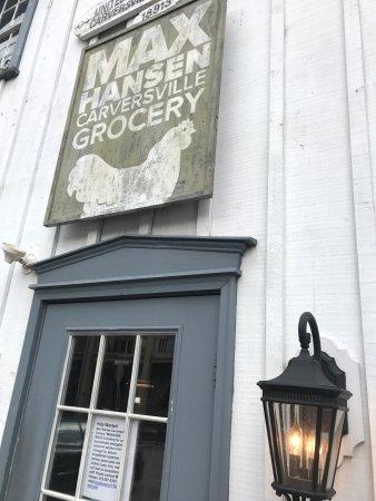 The front door begins you at Max Hansen's Carversville General Store