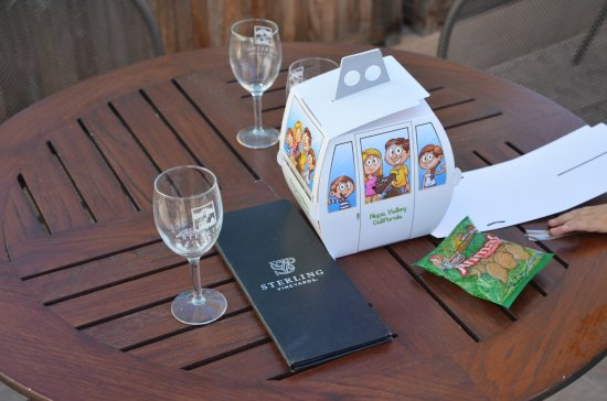 Sterling Vineyards: Goodie bag for the kids