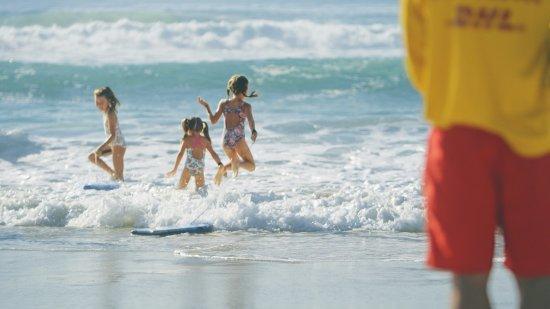 Gold Coast, Australia: Lifesavers always nearby on the GC