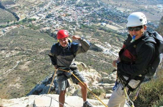 Climbing and Rappelling Tour at Peña...
