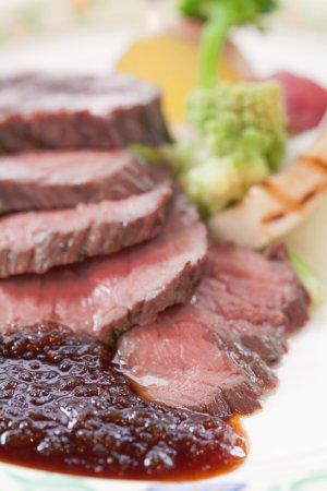 Kurayoshi, Giappone: 牛肉のステーキ
