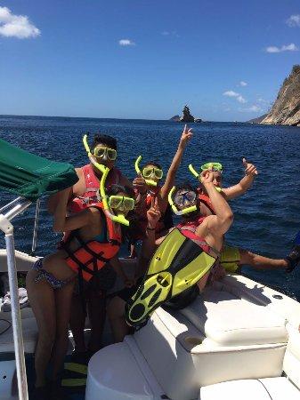 La Cruz, Costa Rica: ready to snorkel