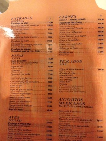 Mexico City Restaurants Menus Best Restaurants Near Me