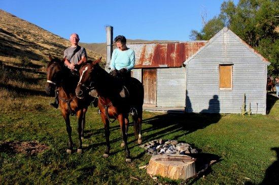 Geraldine, Νέα Ζηλανδία: Ready to leave Hut on day 3