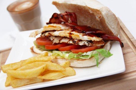 Wentworthville, أستراليا: Club Sandwich - Wenty style!