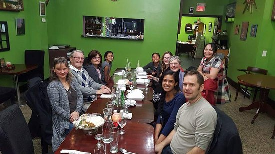 Owen Sound, Canadá: Sabitri's Global Cusine