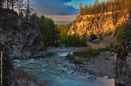 Za Baikalom : Ущелье реки Алла