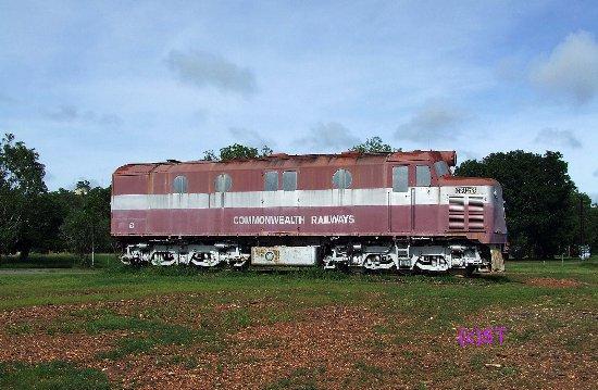 Adelaide River Railway Museum: Commonwealth Engine