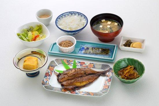 Matsuura, Japan: 朝食(和食)