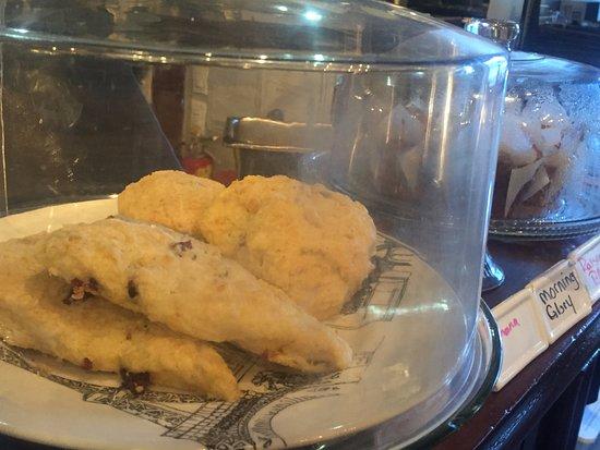 Scone offering, Cafe Brie, 5-177 Second Ave W | Qualicum Beach, BC,, Qualicum Beach, BC