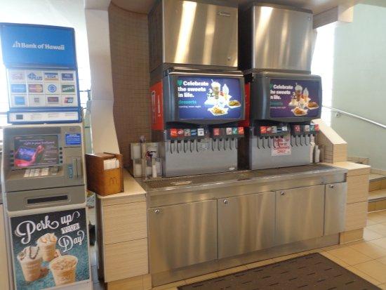 McDonald's Tumon JP Super Store: ドリンク
