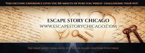 Lisle, IL: Use you brain skills and try to escape before time runs out .