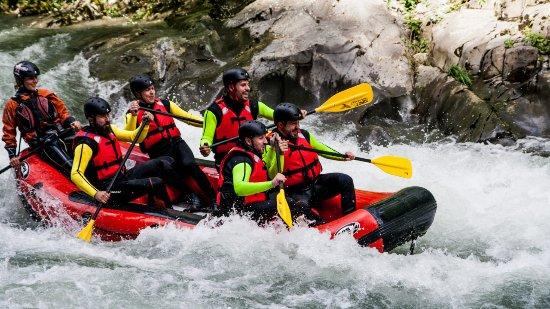 Borgo a Mozzano, Italy: Rafting tutto l'anno