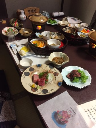 Yuzawa, Japón: 夕食
