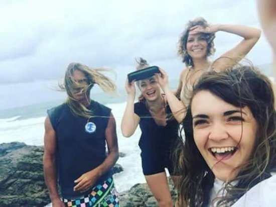 Agnes Water, Australia: Arty with some awesome backpackers from around the world