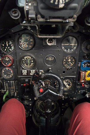 Moorabbin, ออสเตรเลีย: Cockpit shot