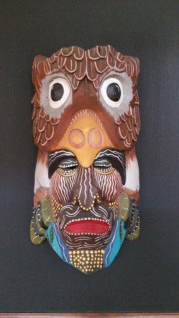 Aranjuez Hotel: Wall-mounted Masque