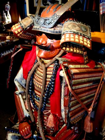 Kutchan-cho, Japan: Samurai amor suits, helmets and more