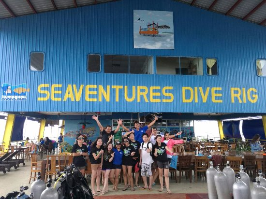 Seaventures Dive Rig: good experience here.