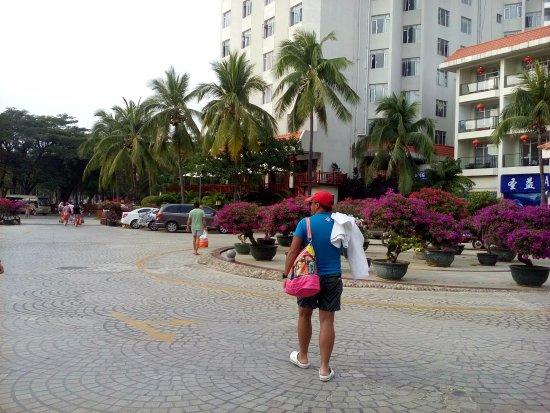 South China Hotel: Территория отеля!
