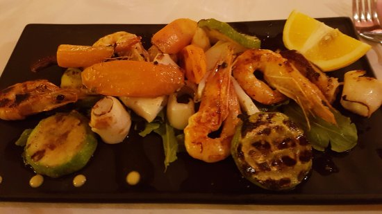 Restaurant Patricia: Grilled seafood