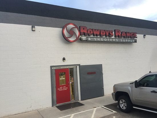 Saint George, UT: Rowdy's Range & Shooters Supply