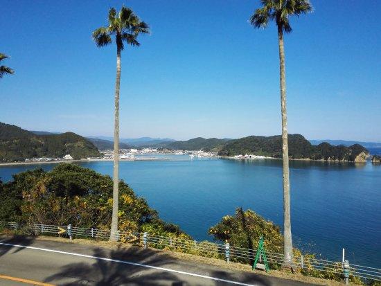 Nichinan, Japan: 내부 모습과 음식. 아름다운 바다