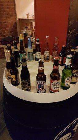 Castelnau-le-Lez, France: Choix de bières orginales