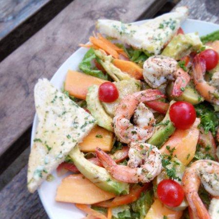 Anjuna, India: Fresh & French - The Douala Salad