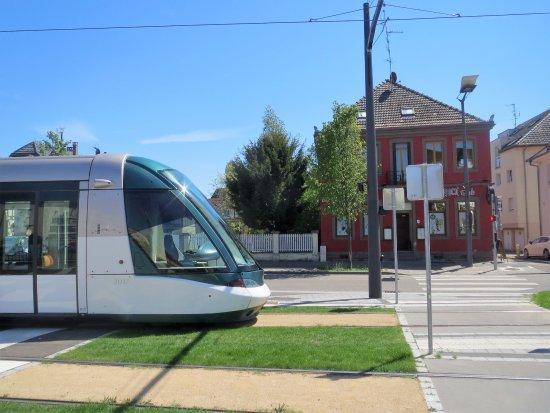Papa Rock Stub : Tram A arrêt Graffenstaden