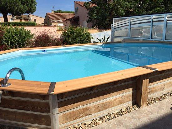 Sainte-Marie-la-Mer, Francia: The swimmingpool