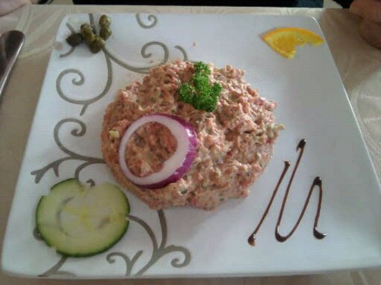 Longueil, Francja: Steak tartare