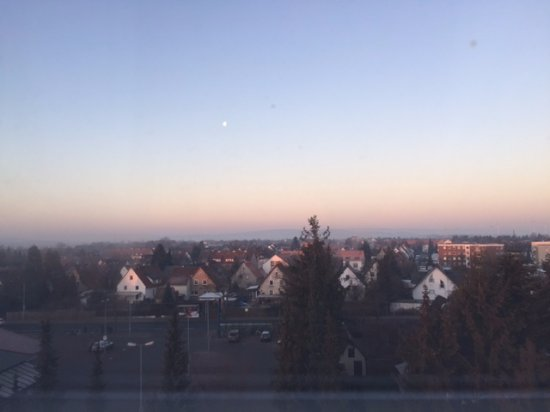 Pattensen b. Hannover, Deutschland: vista dalla finestra della camera al 5° piano