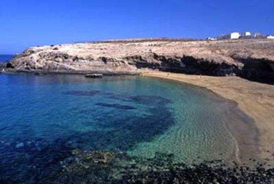 Playa de Aguadulce, en el litoral de Telde.