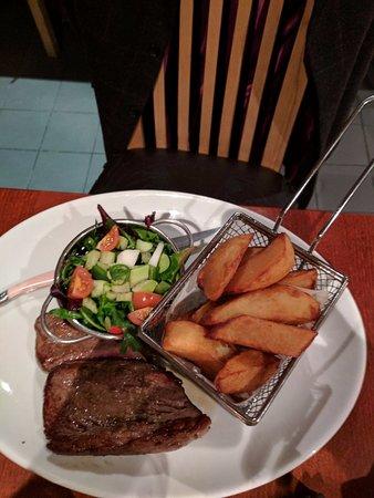 Ate O'Clock: Rump steak
