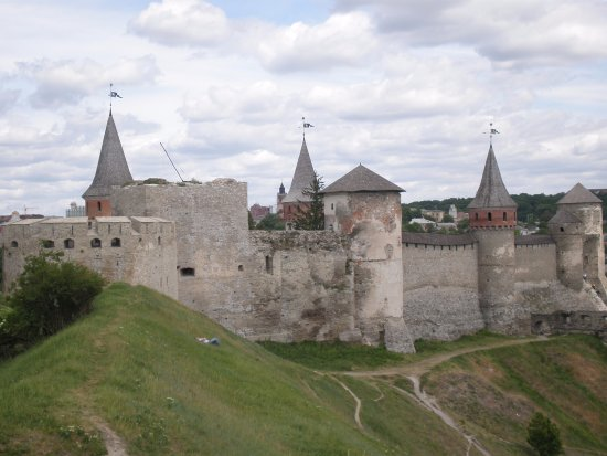 Kamianets-Podilskyi, Ukraine : The view from the New Fortress