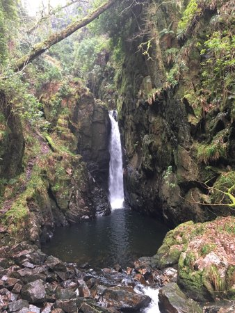 Eskdale, UK: Stanley Ghyll Force Waterfall