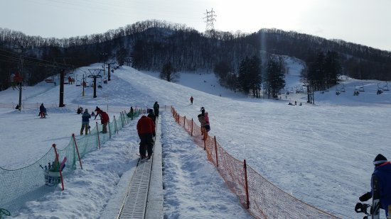 Sapporo Bankei Ski Area: The beginners slope