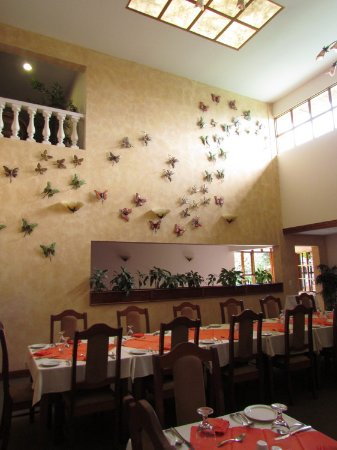 Hotel Buena Vista: The dining room