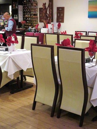 Spices Restaurant in Bromsgrove - Nice decor (15/Feb/17).